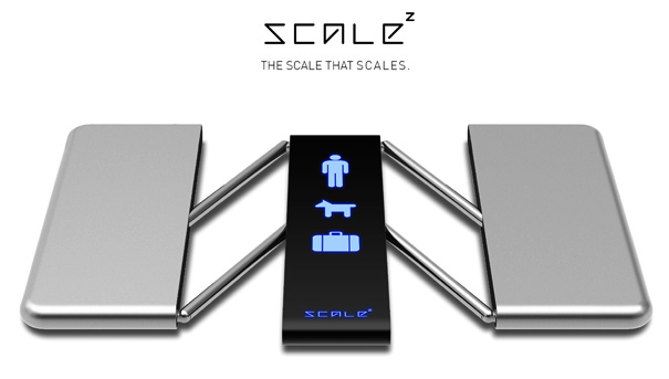 Scale Z - Weighing Scale by René Woo-Ram Lee