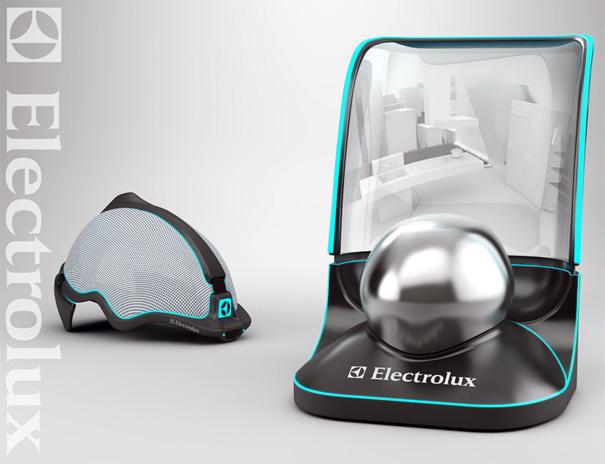 Electrolux Kitchen Hideaway Concept by Daniel Dobrogorsky