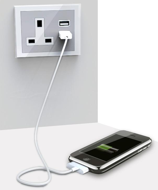 USB Plug Seat by Lv Jianhua, He Dawei, Zhou Hanxiao & Xu Yao