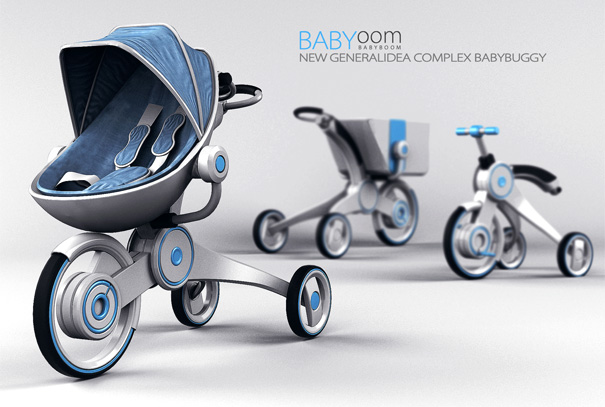 Babyoom – Pram, Stroller & Shopping Cart by Hadong Jung