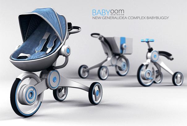 Stroller Yanko Design
