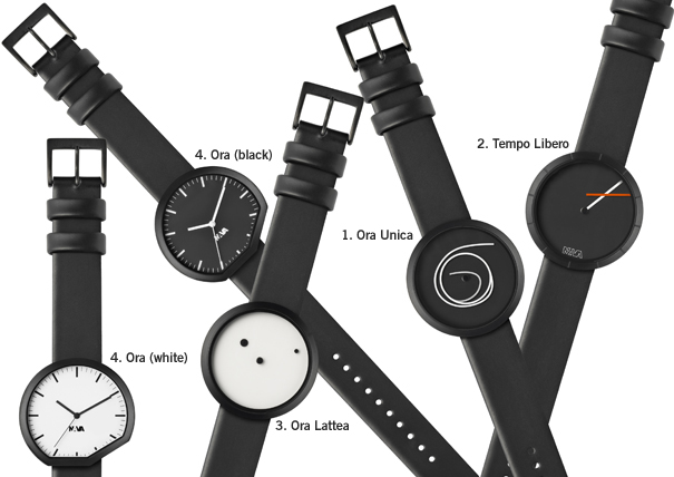 NAVA Time watches by Denis Guidone of NAVA Design