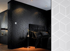 Sensual Geometric Wallpaper