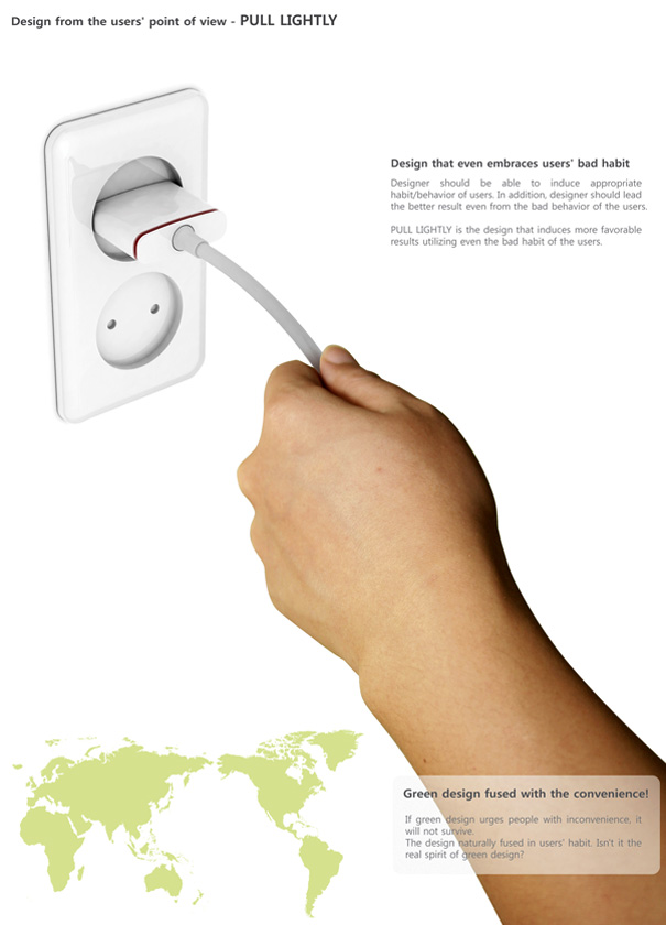 The Pull Lightly Plug by Choi Hyong-Suk