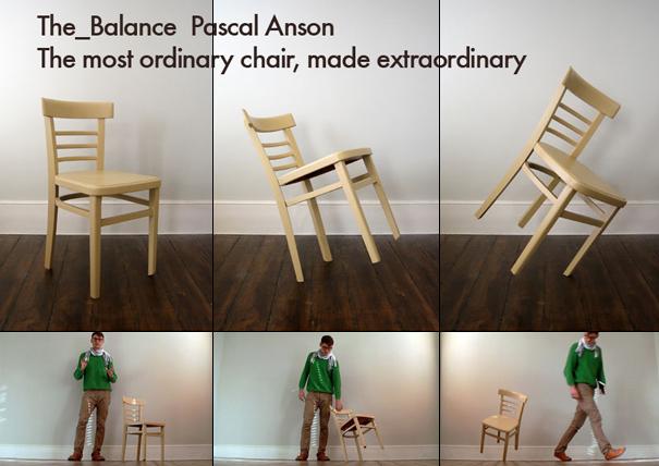 Chair on One Foot | Yanko Design
