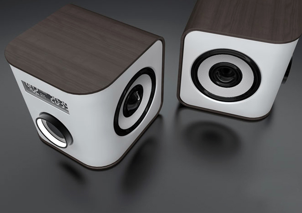 Edge speaker system by FORMBOTEN