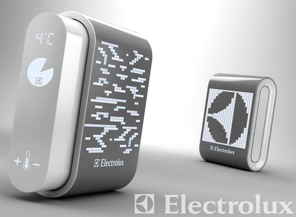 Electrolux External Refrigerator by Nicolas Hubert