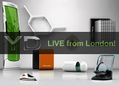 Yanko Design To Report Electrolux Design Lab Results @ 100% Design London, LIVE!