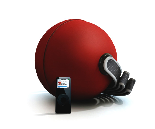 Ecoball – Portable Solar Sound System by Pedro Gomes
