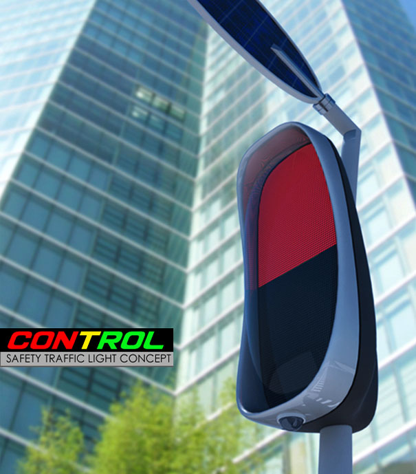 Control Safety Traffic Light Concept by Roberto Vackflores for CRAB Diseño Industria
