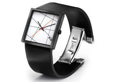 Time Lines watch by Denis Guidone for NAVA Design