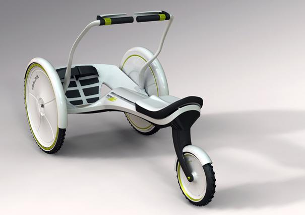Row Your Landlubbing Cart Yanko Design