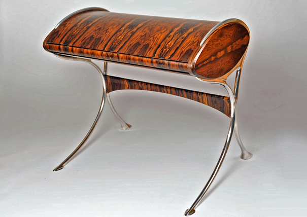 Le Orchidee desk by Marc Fish of Fish Contemporary Furniture