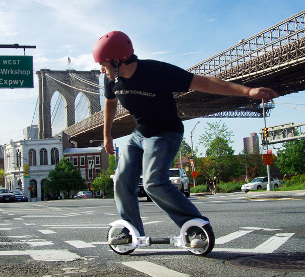 FreeRider SkateCycle by Antonio Meze and Brooklyn Workshop
