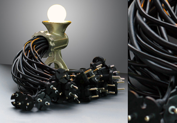 Light Mincer Lamp by Reima Honkasalo