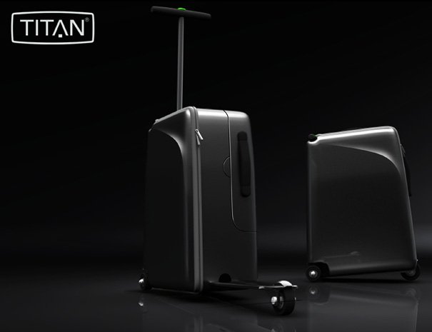 TITAN High-roller Suitcase by Sindre Klepp