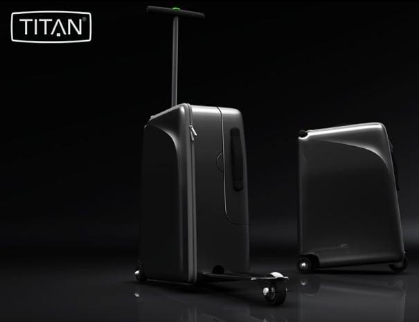 TITAN High-roller Suitcase by Sindre Klepp