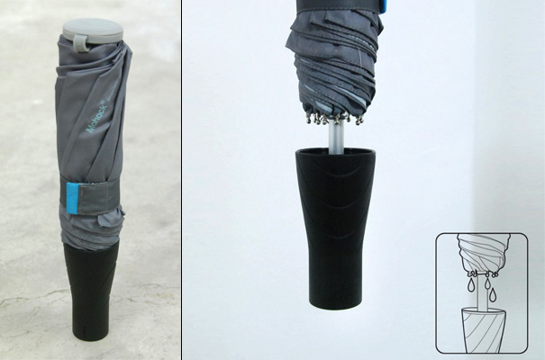 Non-drip Umbrella Design