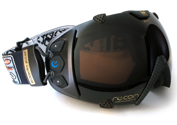 Recon-Zeal Transcend goggles by Recon Instruments