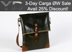 3-Days, 3 Bags & A Whopping 25% Discount! The Carga ØW Collection Sale At The YD Store