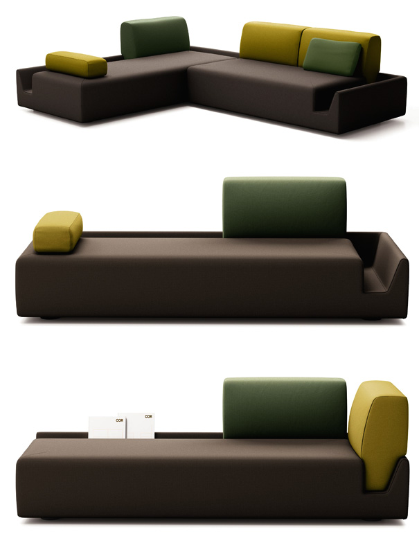 the democratic couch yanko design. Black Bedroom Furniture Sets. Home Design Ideas