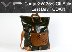 3-Days 3-Bags & A Whopping 25% Discount! LAST Day Of The Carga ØW Sale On YD Store