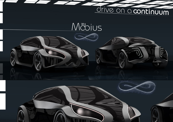 mobius01 Super Cars of the Future: Inspiring Future thinking in Car Design