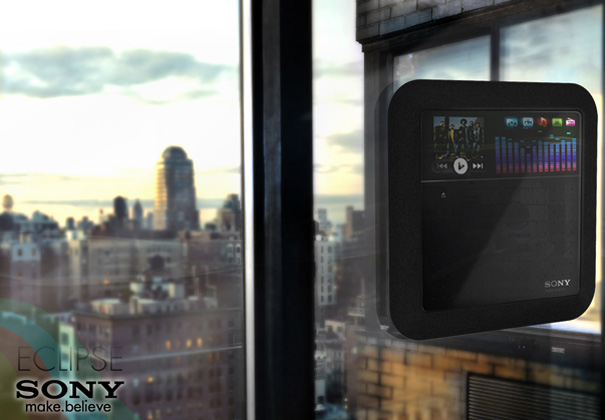 Sony Eclipse Solar Media Player Concept by Hoang M Nguyen & Anh Nguyen