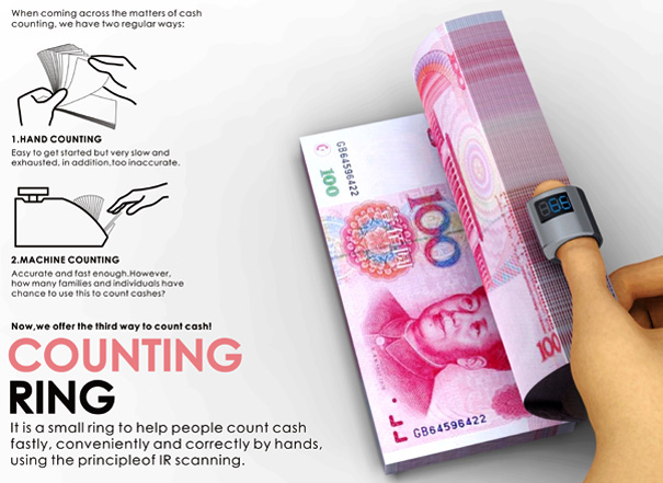 Counting Ring – Money Counting Ring by Wei Hansen, Li Shaochen, Xu Jinrui, Qi Yibin & Zhao Ying