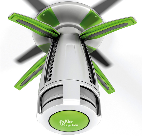 Fire Safety With Home Sprinkler System | Yanko Design