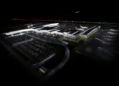 Single Airline Terminal of the Future