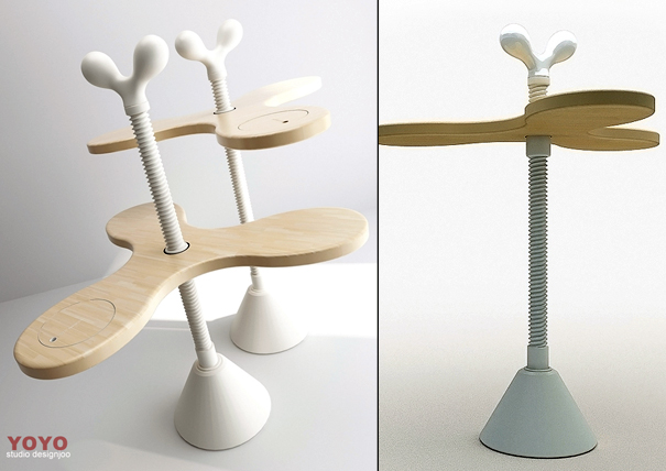 Yoyo furniture by Juil Kim