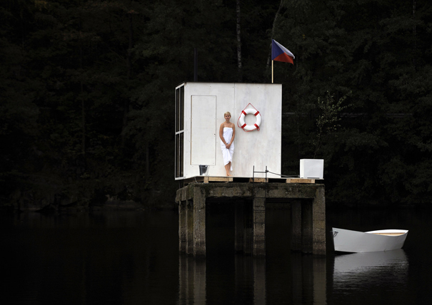 Mjolk Sauna by Mjölk Architekti