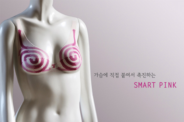 Smart Pink – Breast Cancer Detection Kit by Mi Hyun Ryu and So Ra Park
