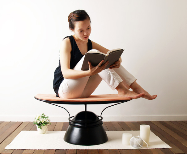 Meditation Everyday – Yoga Chair by Haeyoen Kim