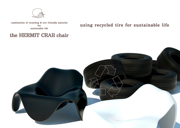 The Hermit Crab Chair by Joseph Kim