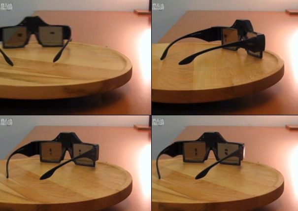 Electronic Sunglasses by Chris Mullin