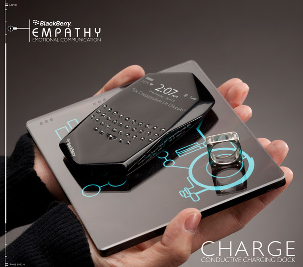 Blackberry Empathy Concept Phone by Kiki Tang & Daniel Yoon