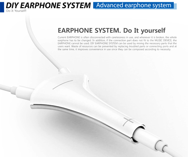 Replaceable Earphones