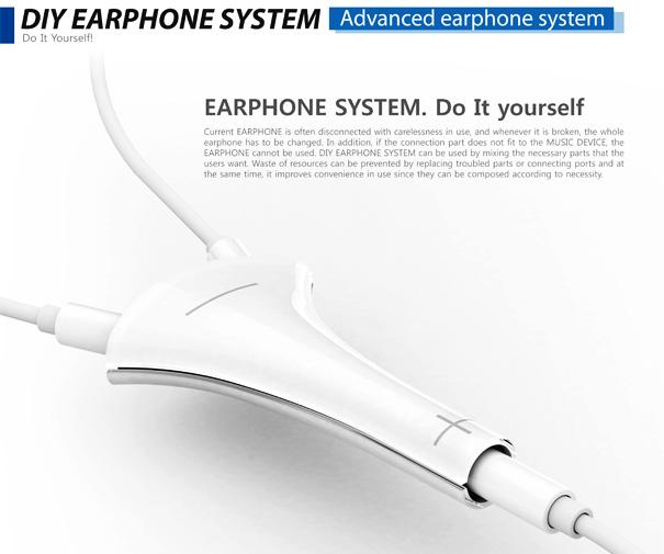 DIY Earphones by Choi Hyong-Suk