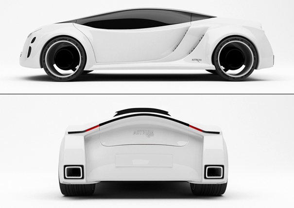 Astrum Meera concept car by John Baltazar plus Hussain and Ali Almossawi