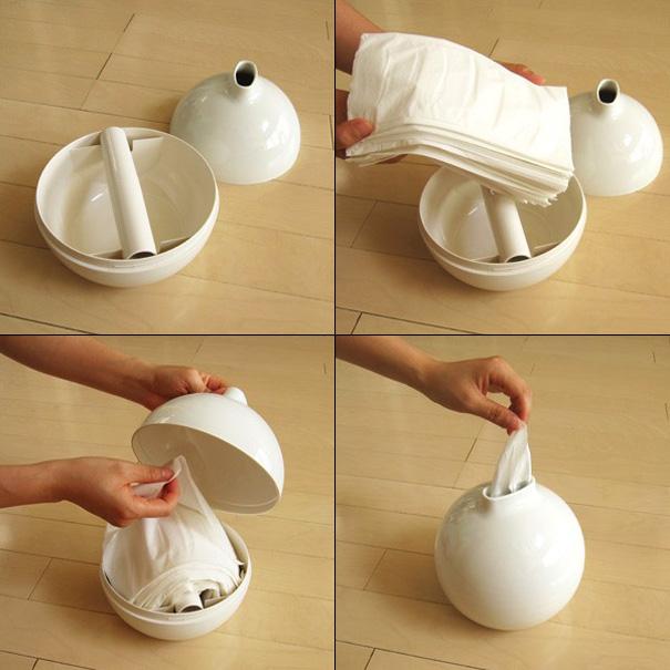 Paper Pot…