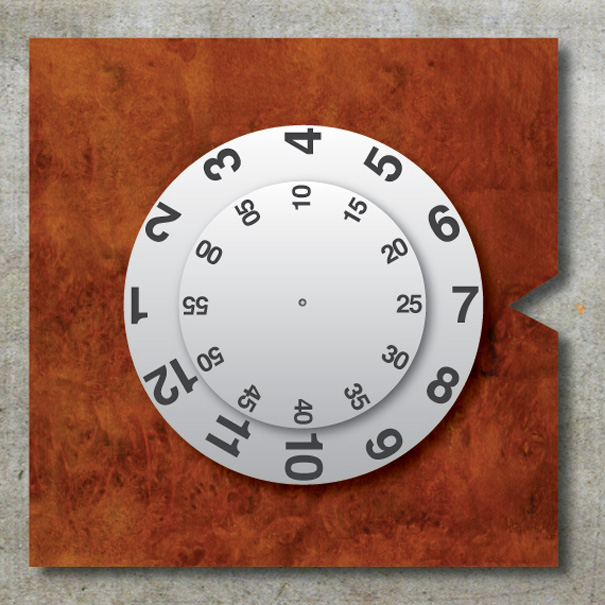 UnTime Clock Concept by Pushkar Ingale