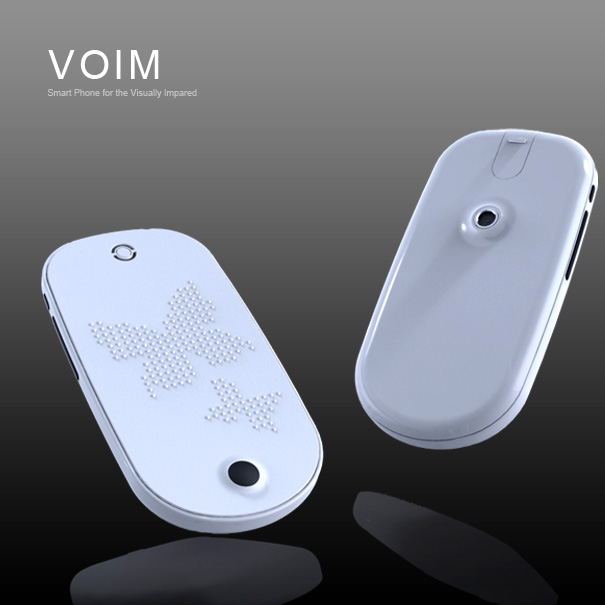 Voim - Smartphone for the Visually Impaired by Youngseong Kim & Eunsol Yeom