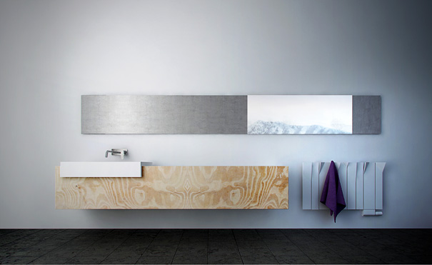 Fold Bathroom Radiators by Mikolaj Adamus