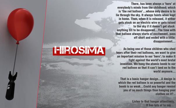 Hiroshima - Clothes Hanger by Mehmet Erdi Özgürlük & Anıl Ercan
