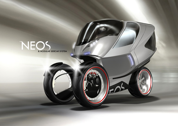 A Motorcycle and Sidecar? I'm Sold! | Yanko Design
