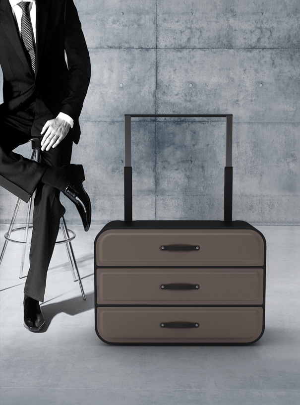 Traveler's Closet – Closet-styled Suitcase by Psychic Factory