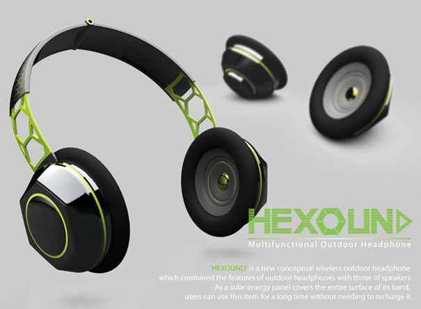 Hexound – Speakers & Headphones by Lie Zhong-Fa