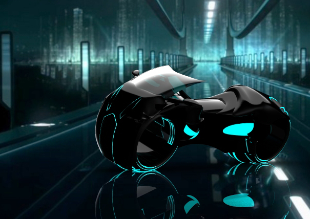 Tron Light Cycle v Campbell